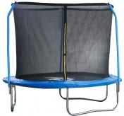 Батут StartLine Fitness 8 футов (244 см) с внутренней сеткой и держателями