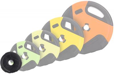 Блин Torneo в пластиковом корпусе 0,5 кгКомпозитные диски для весовой штанги. Могут быть использованы как с грифами из абс-пластика, так и со стальными грифами. Посадочный диаметр: 31 мм. Диаметр диска: 130 мм.<br>Посадочный диаметр: 31 мм; Внешний диаметр: 130 мм; Толщина: 40 мм; Вес, кг: 0,5; Вид спорта: Силовые тренировки; Технологии: ErgoMove, EverProof, T-Unic; Производитель: Torneo; Артикул производителя: 1011-5; Срок гарантии: 5 лет; Страна производства: Китай; Размер RU: Без размера;