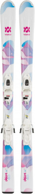 Горные лыжи детские + крепления Volkl CHICA + 7.0 VMotion Jr.