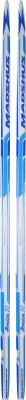 Беговые лыжи женские Madshus Amica XСЖенские классические беговые лыжи с защитным лаковым покрытием и насечкой от легендарного норвежского бренда madshus.<br>Назначение: Прогулочные; Стиль катания: Классический; Уровень подготовки: Начинающий; Пол: Женский; Возраст: Взрослые; Сердечник: Wood Core; Геометрия: 45 - 45 - 45 мм; Конструкция: Cap; Система насечек: Step Grip; Скользящая поверхность: Extruded; Жесткость: Низкая; Вид спорта: Беговые лыжи; Производитель: Madshus; Артикул производителя: DXS000WQ19; Срок гарантии на лыжи: 1 год; Страна производства: Россия; Размер RU: 195;