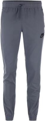 Брюки мужские Nike SportswearМужские брюки nike sportswear отлично впишутся в спортивный гардероб.<br>Пол: Мужской; Возраст: Взрослые; Вид спорта: Спортивный стиль; Сезон: Весна-лето; Силуэт брюк: Зауженный; Количество карманов: 3; Материал верха: 62 % хлопок, 38 % нейлон; Производитель: Nike; Артикул производителя: 804325-021; Страна производства: Индонезия; Размер RU: 54-56;