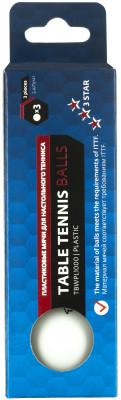 Мячи для настольного тенниса TorneoНабор мячей для настольного тенниса.<br>Состав: Пластик; Производитель: Torneo; Артикул производителя: TBWPL1000; Страна производства: Китай; Размер RU: Без размера;